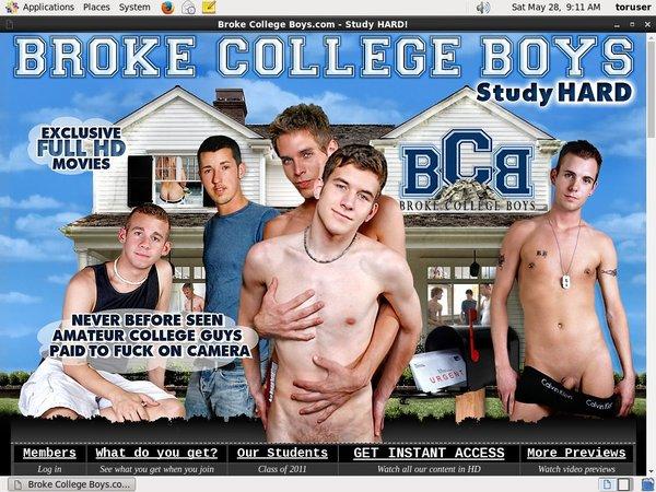 Broke College Boys Idealgasm