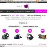 Czech VR Casting Latest