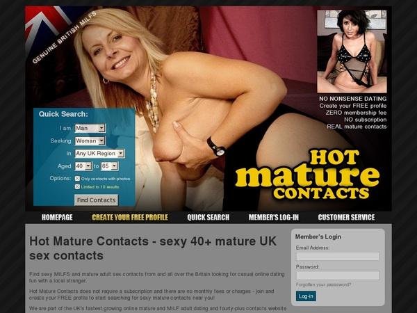 Log In Hotmaturecontacts.com