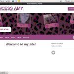 Princessamy.modelcentro.com Discount Page