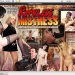 Ruthless Mistress Pass Login