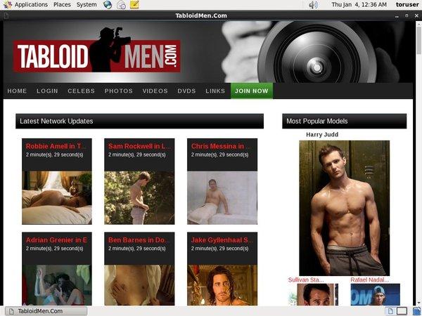 Tabloid Men Access Free