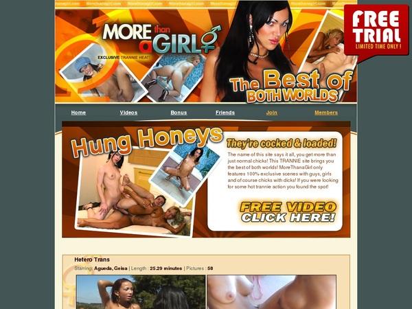 Morethanagirl.com Member Trial