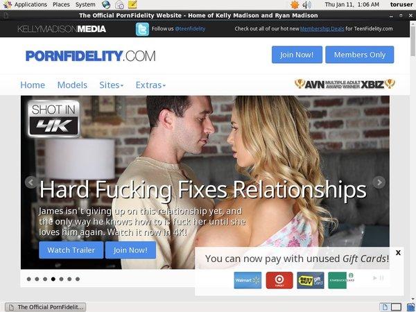 Free Premium Accounts For Porn Fidelity