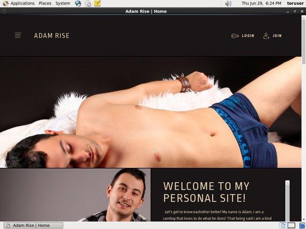 Adam Rise Sale