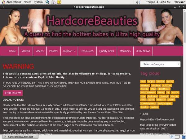 Hardcorebeauties.net Account Premium