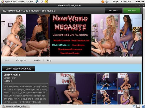 Meanworld.com Com Discount