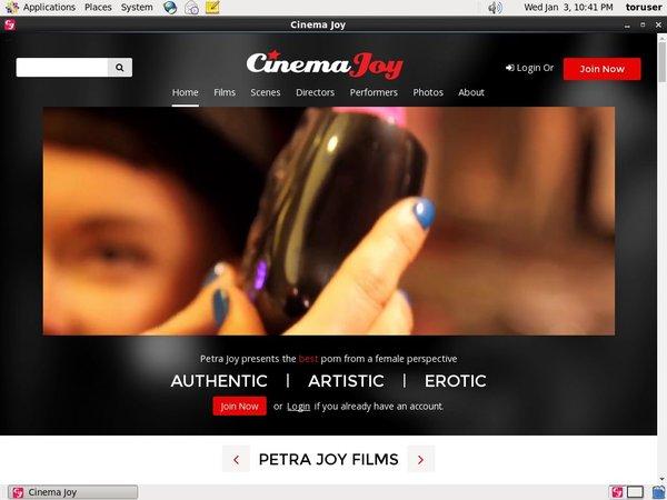 Premium Cinemajoy Account
